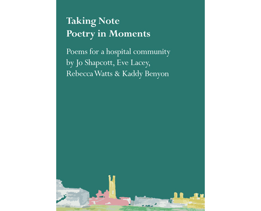 Taking Note Poetry in Moments Cover